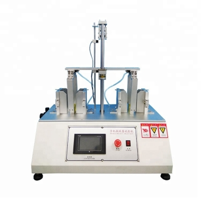 Micro Drop Mobile Phone Testing Machine with 2 Station Mobile phone desktop drop test machine